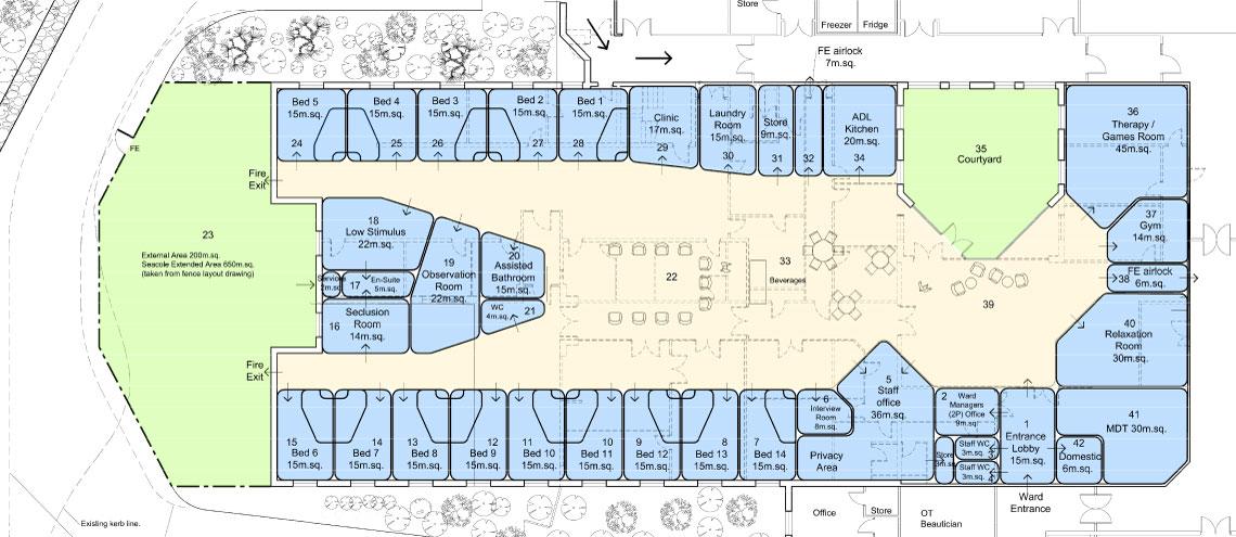 Ward-6-feasibility-layout